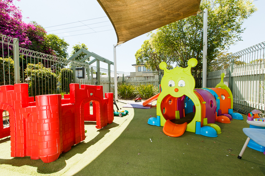 Outdoor play area at Papilio Ashburton